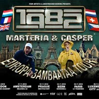 Marteria & Casper at Islington Academy on Tuesday 20th November 2018