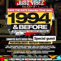 1994 and before! at Secret Location on Saturday 22nd June 2019