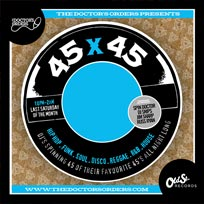 45 x 45s  at Old Street Records on Saturday 29th September 2018