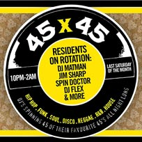 45 x 45s  at Old Street Records on Saturday 30th November 2019