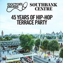 45 Years of Hip-Hop at Southbank Centre on Monday 27th August 2018
