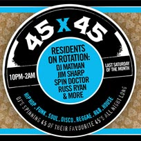 45 x 45s  at Old Street Records on Saturday 26th October 2019