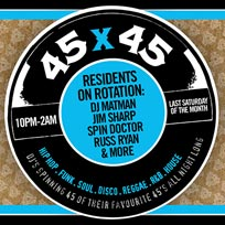 45 x 45s  at Old Street Records on Saturday 27th April 2019