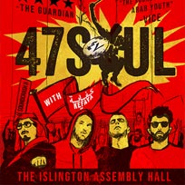 47Soul at Islington Assembly Hall on Saturday 29th September 2018