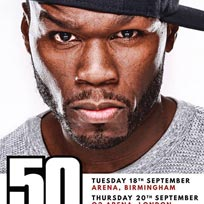 50 Cent at The o2 on Thursday 20th September 2018