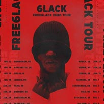 6LACK at Electric Brixton on Thursday 18th January 2018