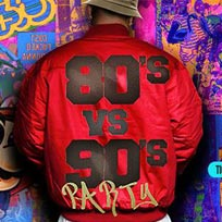 80s vs 90s Party at The Wick on Saturday 7th May 2016