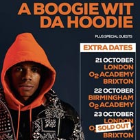 A Boogie Wit Da Hoodie at Brixton Academy on Wednesday 23rd October 2019