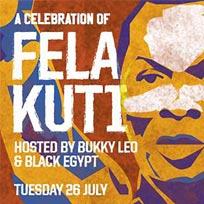 A Celebration of Fela Kuti at Jazz Cafe on Tuesday 26th July 2016