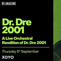 An Orchestral Rendition of Dr Dre 2001 at XOYO on Thursday 5th September 2019