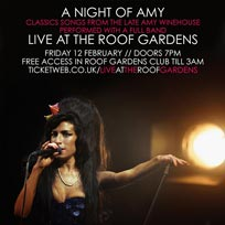 A Night of Amy February 2016
