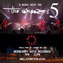 A Night With The Compozers 5 at The Roundhouse on Wednesday 20th December 2017