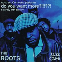 The Roots performed by Abstract Orchestra at Jazz Cafe on Saturday 14th January 2017