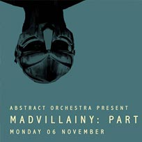 Abstract Orchesta present Madvillainy: Part II at Jazz Cafe on Monday 6th November 2017