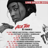 Ace Tee at XOYO on Thursday 11th May 2017