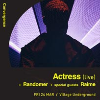 Actress at Village Underground on Friday 24th March 2017