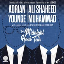 Adrian Younge & Ali Shaheed Muhammad at Islington Assembly Hall on Wednesday 24th April 2019