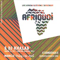 Afriquoi at The Laundry Building on Friday 21st April 2017