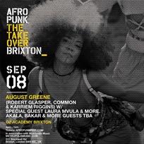 AFROPUNK at Brixton Academy on Saturday 8th September 2018