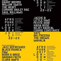 Afropunk at Printworks on Saturday 22nd July 2017