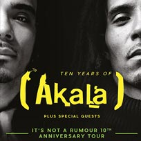 Akala at KOKO on Wednesday 12th October 2016