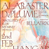 Alabaster dePlume at Hangar on Saturday 2nd February 2019