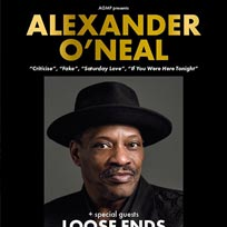 Alexander O'Neal at Indigo2 on Friday 27th September 2019