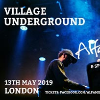 Alfa Mist at Village Underground on Monday 13th May 2019