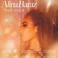 Alina Baraz at Electric Brixton on Thursday 22nd November 2018