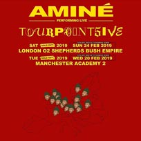 Aminé at Shepherd's Bush Empire on Sunday 24th February 2019