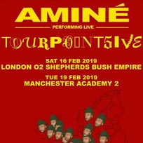 Aminé at Shepherd's Bush Empire on Saturday 16th February 2019