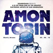 Amon Tobin DJ Set at Electric Brixton on Thursday 2nd June 2016