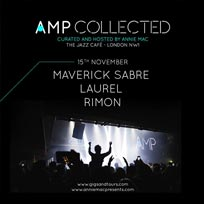 AMP Collected at Jazz Cafe on Thursday 15th November 2018
