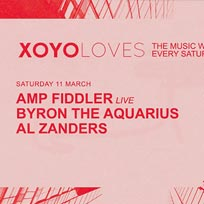 Amp Fiddler (Live) at XOYO on Saturday 11th March 2017
