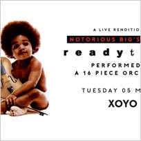 An Orchestral Rendition of Ready To Die at XOYO on Tuesday 5th March 2019