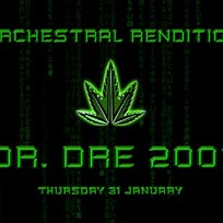 An Orchestral Rendition of Dr Dre 2001 at XOYO on Thursday 31st January 2019