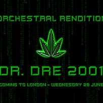 An Orchestral Rendition of Dr Dre 2001 at XOYO on Wednesday 28th June 2017