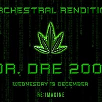 An Orchestral Rendition of Dr Dre 2001 at XOYO on Wednesday 19th December 2018