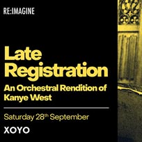 Late Registraion at XOYO on Saturday 28th September 2019