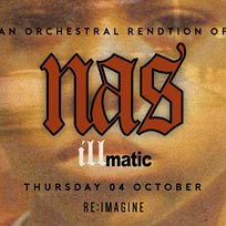 An Orchestral Rendition of Nas' Illmatic at XOYO on Thursday 4th October 2018