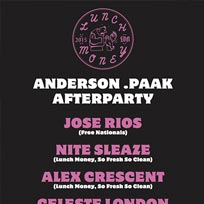 Anderson Paak Afterparty London February 2016