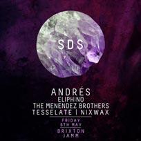 Saints Don't Sleep: Andrés at Brixton Jamm on Friday 6th May 2016