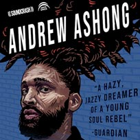 Andrew Ashong at Archspace on Sunday 22nd July 2018