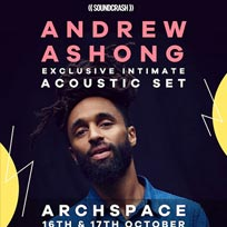 Andrew Ashong at Archspace on Monday 16th October 2017