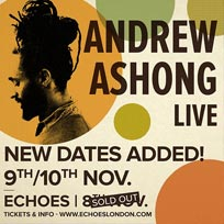 Andrew Ashong at TripSpace Projects on Wednesday 9th November 2016