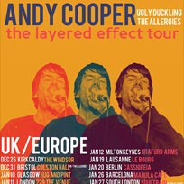 Andy Cooper at 229 The Venue on Thursday 11th January 2018