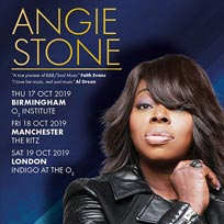 Angie Stone at Indigo2 on Saturday 19th October 2019