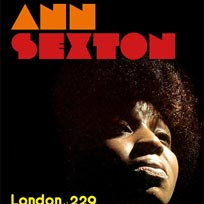 Ann Sexton at 229 The Venue on Wednesday 13th June 2018