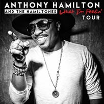 Anthony Hamilton & the Hamiltones at Indigo2 on Friday 8th July 2016