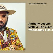 Anthony Joseph at Jazz Cafe on Wednesday 12th June 2019